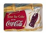 Platex 27 x 20 cm Coca Cola Melamine Tray Trompet White