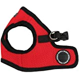 Puppia Soft Vest Dog Harness - Red - Large