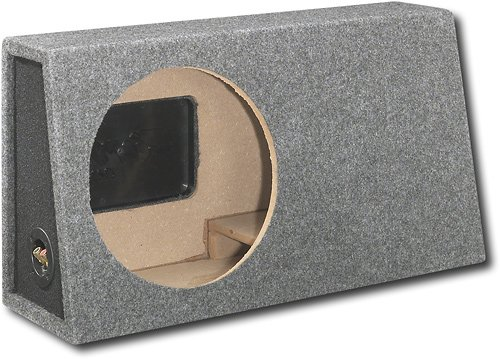 "Fierce Audio 12"" Single Slot-Ported Truck Subwoofer Enclosure -"