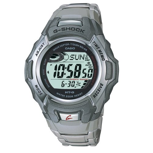 Casio Mens G-Shock MTG Atomic Tough Solar Watch #MTG900DA-8V