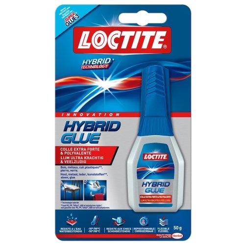 Loctite- Colla Hybrid Glue, tubetto da 50 g