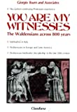 You Are My Witnesses : The Waldensians Across Eight