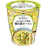 マルちゃん hanauta鶏白湯ラーメン 72g×6個