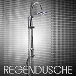 """Duschsäule """"COMFORT"""" Tropendusche Regendusche Duschgarnitur Set Neu"""