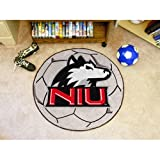 Northern Illinois Huskies NCAA &quot;Soccer Ball&quot; Round Floor Mat (29&quot;)