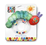 Rainbow Designs Very Hungry Caterpillar Caterpillar Ring Rattle