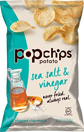 Popchips Potato Chips, Sea Salt and Vinegar, 3.5 Ounce (Sea Salt Popchips compare prices)