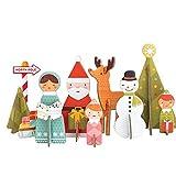 Eco Friendly Stocking Stuffer Winter Wonderland Pop Out Toy Set