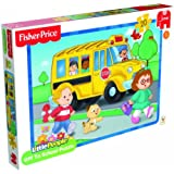 Fisher-Price Little People Off to School Jigsaw Puzzle