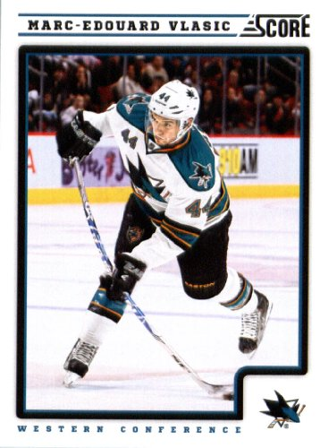 2012-13-score-nhl-hockey-card-397-marc-edouard-vlasic-san-jose-sharks
