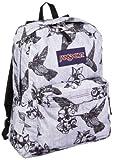 JanSport Classic SuperBreak Backpack, Grey/Black Botanical