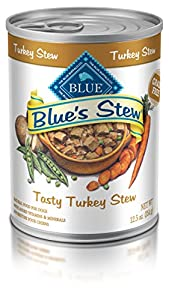 BLUE Turkey Stew Wet Dog Food, (Pack of 12, 12.5oz.)