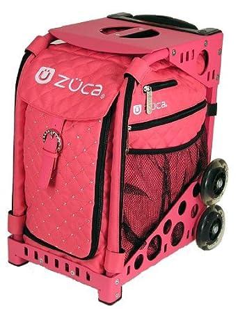 Amazon.com: Zuca Bag Hot Pink (Black Frame): Clothing