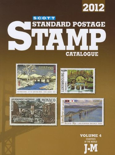 2012 Scott Standard Postage Stamp Catalogue, Vol. 4: Countries of the World J-M