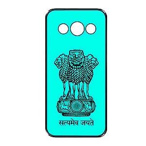 Vibhar printed case back cover for Samsung Galaxy Core SatyamavJayate