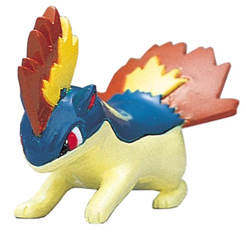 "Takara Tomy Pokemon Monster Collection Mini Figure - 1.5"" Quilava / Magmarashi (M-075) (Japanese Import)"