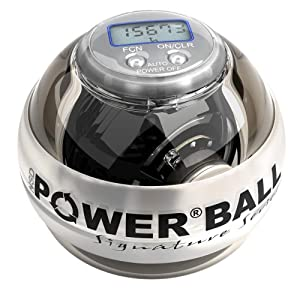 A picture of the Powerball.