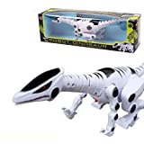 Dlpj Large Electronic Pet Dinosaur With Light & Music Can Walk Shake Head Tail Eyes Can Shine