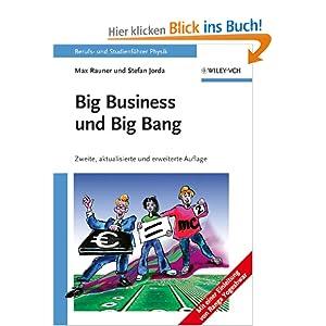 eBook Cover für  Big Business und Big Bang Berufs und Studienf xFC hrer Physik