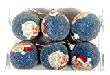 TRINITY CHRISTMAS BALL PACK OF 6PCS