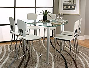 Share facebook twitter pinterest currently unavailable we for Tall glass dining table