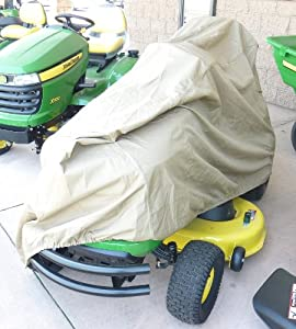 "Riding Lawn Mower / Tractor Cover - 74""Lx44""Wx38""H by bondvast"