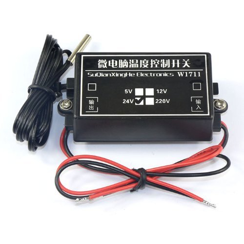 Riorand -15-70°C Heating Cooling Thermostat Temperature Controller Dc 24V front-398914
