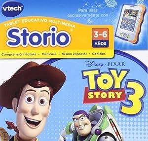 Amazon.com: Vtech Spanish - Vtech Storio Juego Toy Story 3 - En Espa