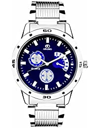 buy watches for men online at low prices in shop sports adamo analogue blue dial men s watch ad108