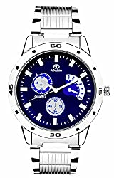ADAMO Analogue Blue Dial Men's Watch -AD108-2