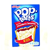 Kelloggs Pop Tarts Strawberry Sensation 400g