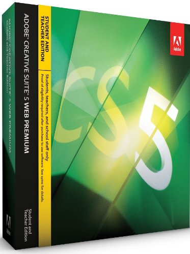Adobe Creative Suite 5 Web Premium, Student and Teacher Version (PC)