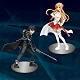 Sword Art Online SAO Figure 1 SWORD ART ONLINE anime prize flue (all two full set) (japan import)