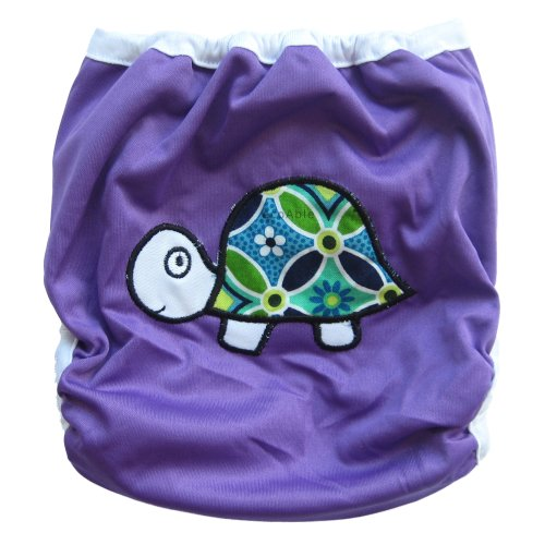 Reusable Waterproof Cloth Diaper Cover /Adjustable One-Size 8-35Lb/ Pul (1539) front-80228