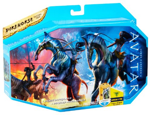 James Cameron's Avatar Movie Creature Toy Figure Direhorse (Avatar Robot compare prices)