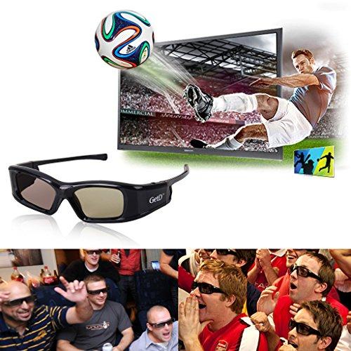 4x 3D Aktiv IR&BT Shutter Brille für Toshiba 40TL868 40TL868B 46TL868B TL933 TL938G 40TL968G 39L4363D 40L7363DG 32L233DG