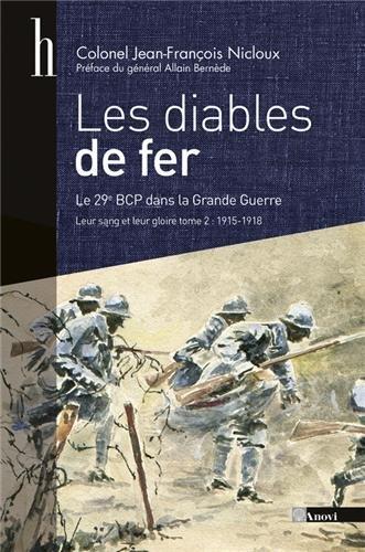 Les diables de fer, tome 2 : Leur sang et leur gloire, le 29e bataillon de chasseurs à pied