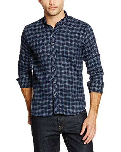 Philip Loren Camisa Hombre Azul