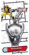 Marvel Wolverine Head Pewter Key Ring