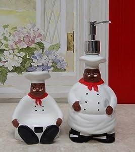 Kitchen Decor African American Bistro Black