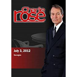 Charlie Rose - Savages (July 3, 2012)