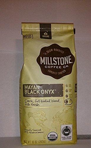 Millstone Mayan Black Onyz Premium Ground Coffee, 10 Ounce