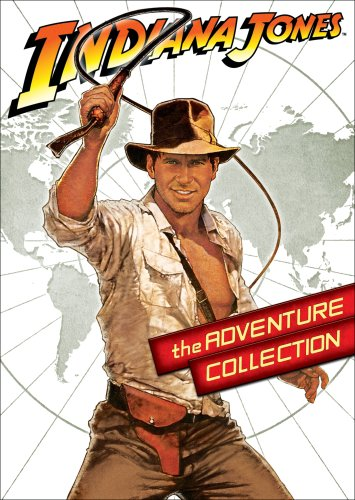 Cover art for  Indiana Jones: The Adventure Collection (Special Editions of Indiana Jones and the Raiders of the Lost Ark  / Indiana Jones and the Temple of Doom / Indiana Jones and the Last Crusade)