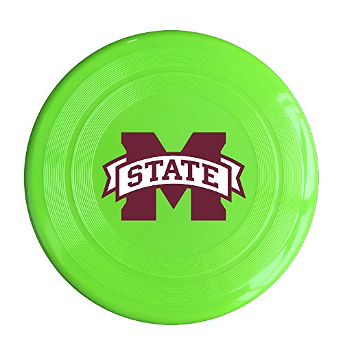 WG Unisex Mississippi State University MSU Bulldogs Outdoor Game Frisbee Ultra Star KellyGreen (Ipod 5th Generation Bulldog Cases compare prices)