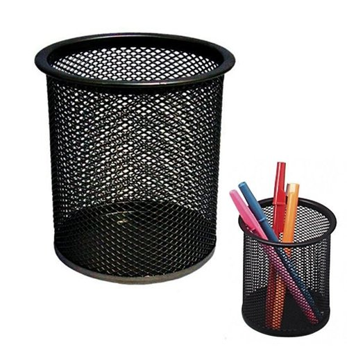 pro-range-black-wire-mesh-pencil-and-pen-cup-desktidy