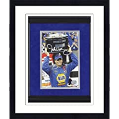 Framed Michael Waltrip Autographed Photo - Mounted Memories Certified - Autographed... by Sports Memorabilia