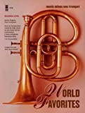Music Minus One Trumpet: World Favorites--41 Easy Selections (1st-2nd Year Student Edition; Sheet Music & CD)