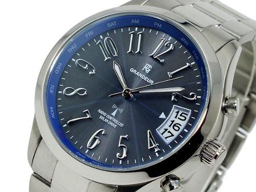 GRANDEUR グランドール [ソーラー電波] 腕時計 RCW013W2