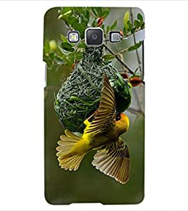 ColourCraft Busy Bird Design Back Case Cover for SAMSUNG GALAXY A5 A500F