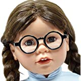 Set Of 2 Solid Round Glasses For 18 Doll Doll Glasses Fits 18 Inch And American Girl Dolls Includes A Pair Of...